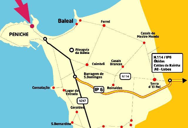 Peniche Surf Lodge Papoa Beach Silver Coast Portugal Please - Portugal map coast